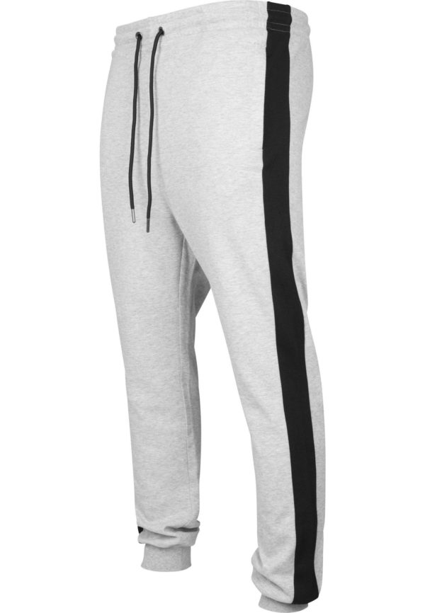 2-Tone InterlockTrack Pants - Grey
