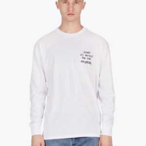Tag Rugger LS Tee - White
